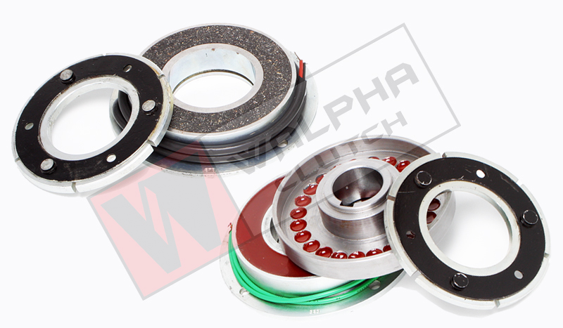 Single Disc Electromagnetic Clutches & Brakes